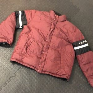 Tommy Hilfiger down puffer jacket. Reversible!